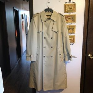 Vintage 1970s Christian Dior Trench Coat